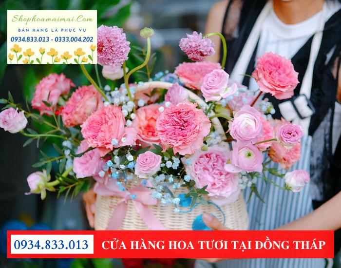 Cửa hàng hoa tươi tại Cao Lãnh