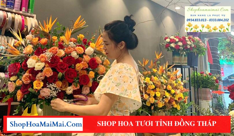 Shop hoa tỉnh Đồng Tháp