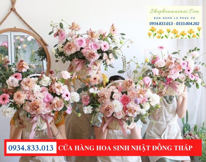 Cửa hàng bán hoa sinh nhật ở tại Đồng Tháp