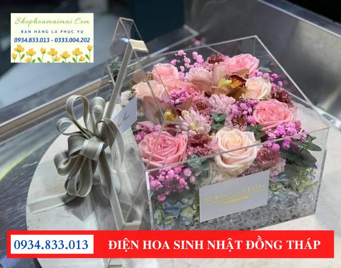 Dịch vụ cắm hoa sinh nhật tại Đồng Tháp