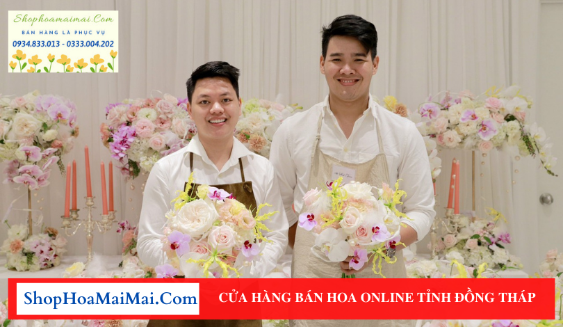 Cửa hàng bán hoa tươi online tại Đồng Tháp