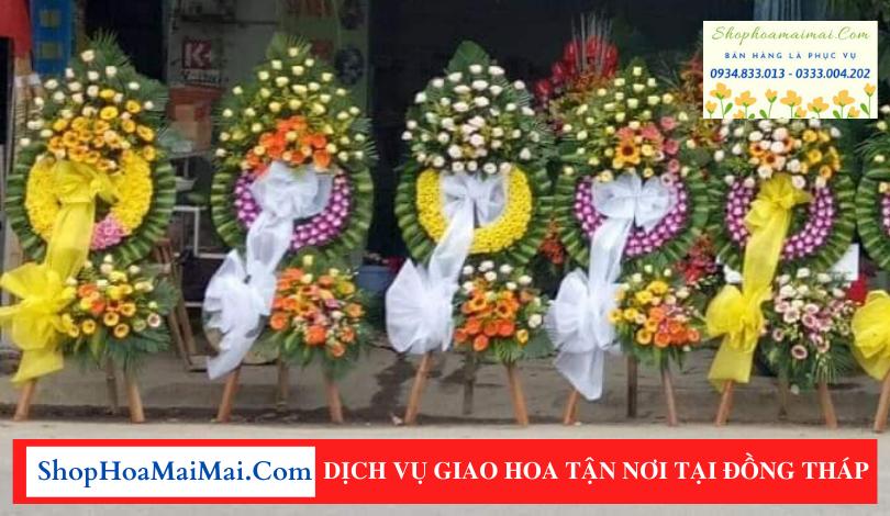 Dịch vụ chuyển hoa tang lễ tận nơi tại Đồng Tháp