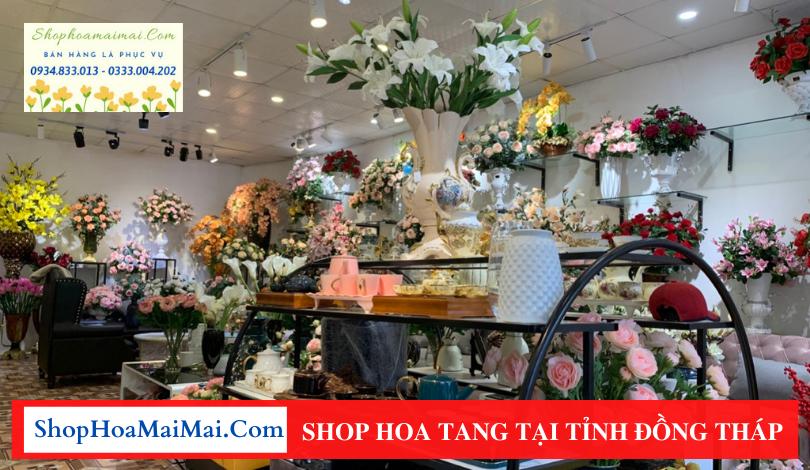 Shop hoa tang Đồng Tháp