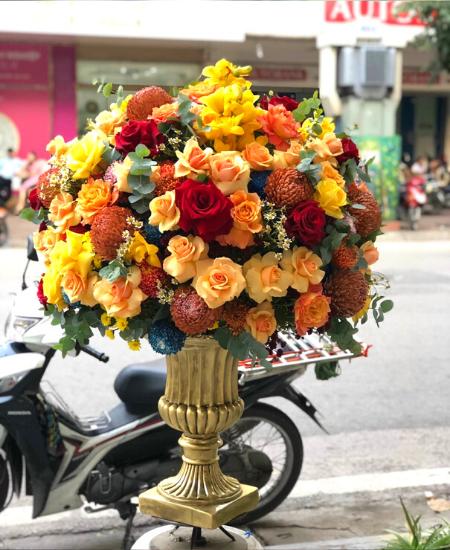 Hoa khai trương tỉnh Đồng Tháp