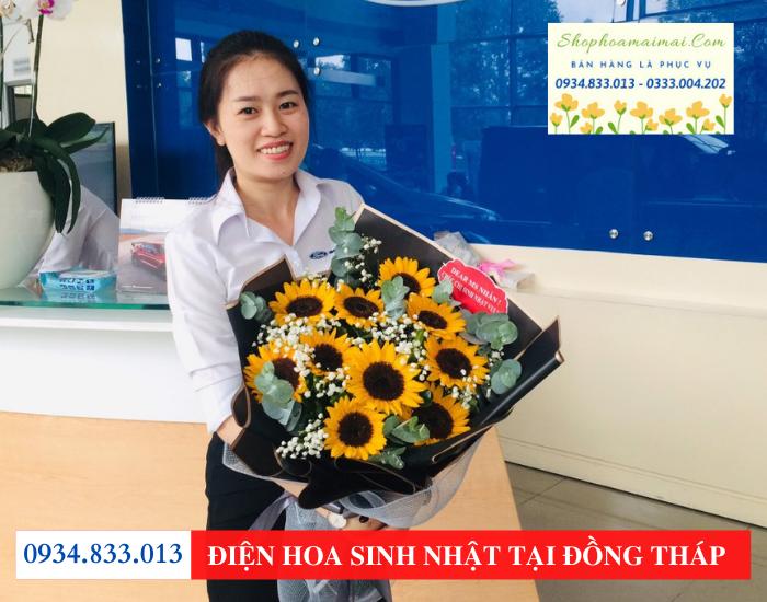 Mẫu hoa sinh nhật tại Đồng Tháp