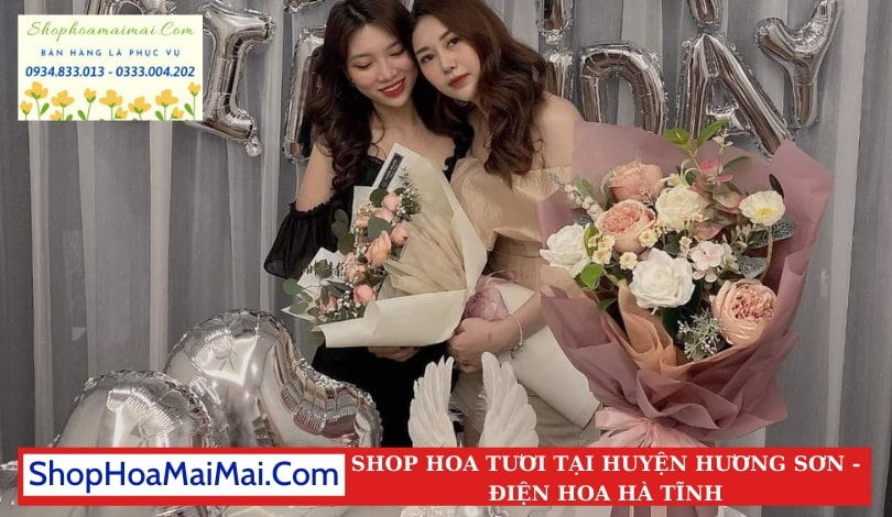 Shop Hoa Tươi Tại Huyện Hương Sơn