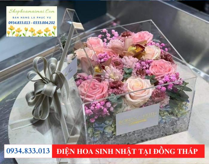 Cắm hoa sinh nhật tại tp Sa Đéc Đồng Tháp