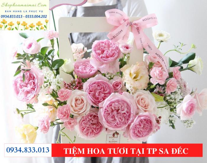 Tiệm hoa tp Sa Đéc Đồng Tháp