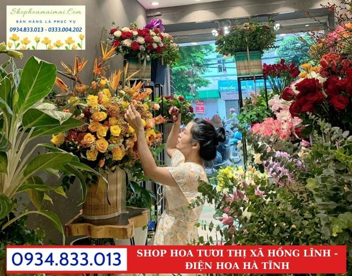 Cửa Hàng Hoa Tươi Thị Xã Hồng Lĩnh