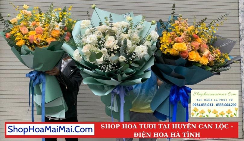 Cắm Hoa Theo Yêu Cầu Huyện Can Lộc