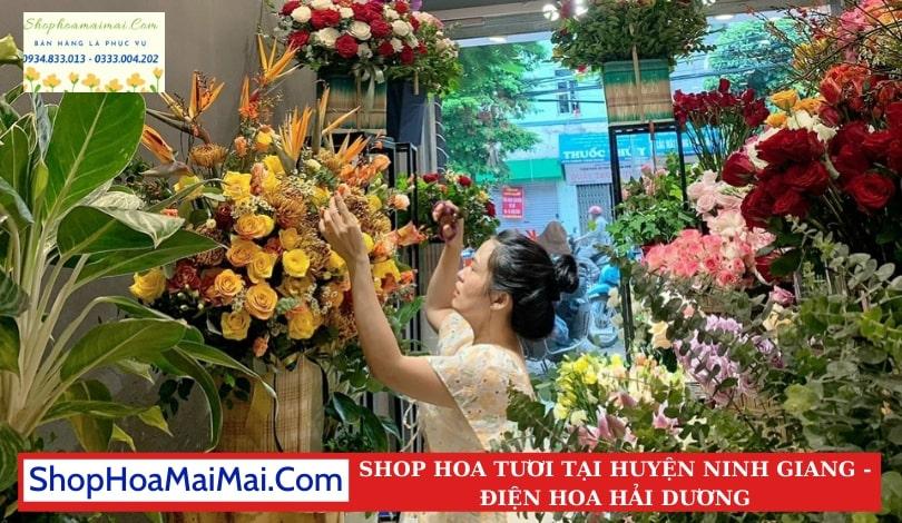 Cửa Hàng Hoa Tươi Huyện Ninh Giang