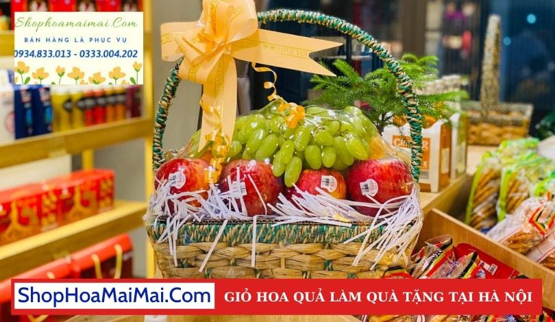 Shop Bán Giỏ Hoa Quả Tại Hà Nội