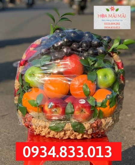 Shop Bán Giỏ Trái Cây Tại Cao Bằng