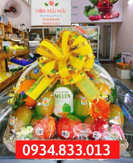 Shop Bán Giỏ Trái Cây Tại Hà Giang