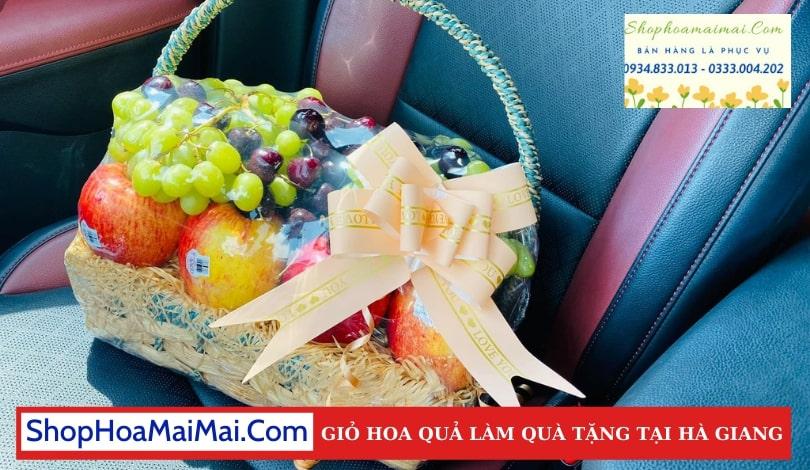 Giỏ Hoa Quả Nhập Khẩu Tại Hà Giang