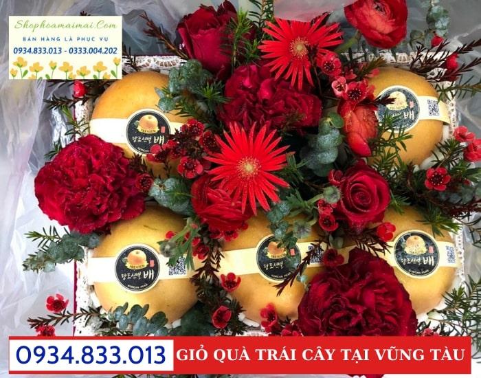 Tiệm Bán Giỏ Hoa Quả Tại Vũng Tàu