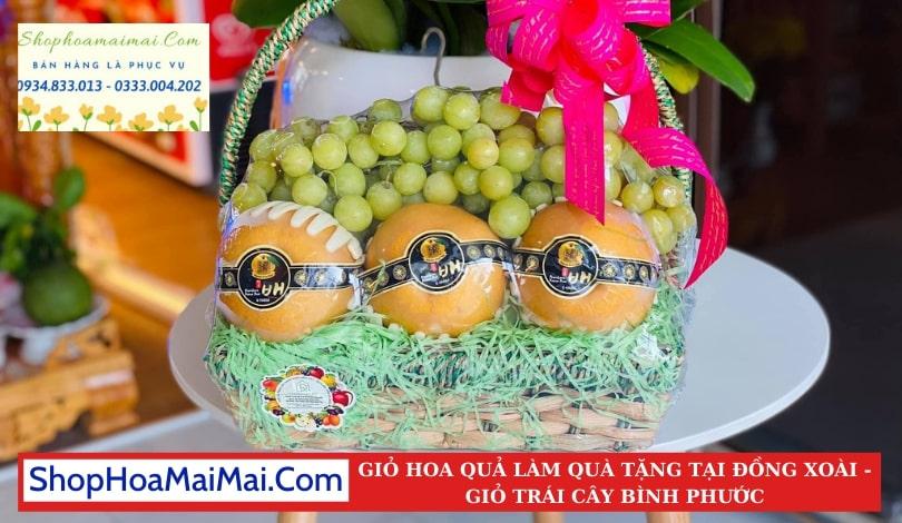 Giỏ Hoa Quả Nhập Khẩu Tại Bình Phước