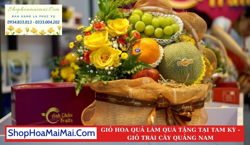 Mua Giỏ Hoa Quả Tại Quảng Nam