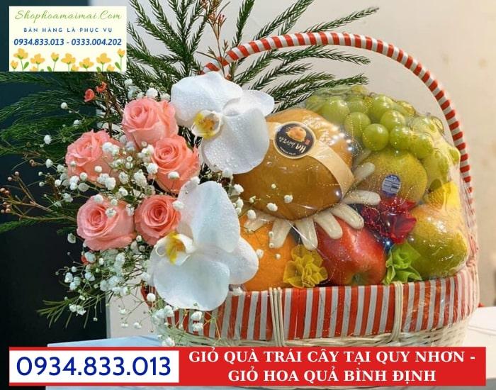 Mua Giỏ Hoa Quả Siêu Thị Tại Bình Định