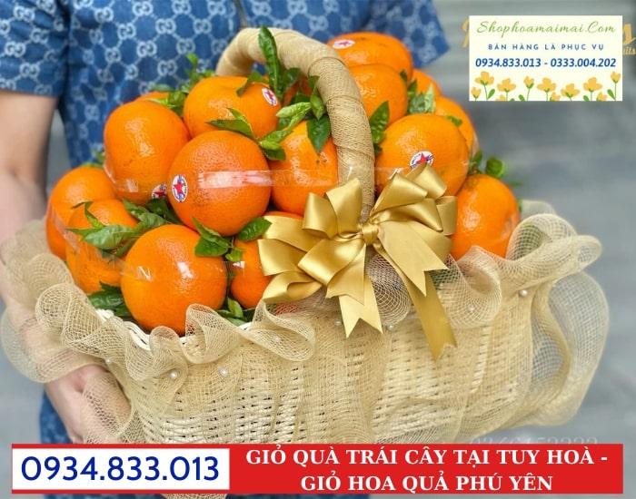Giỏ Quà Trái Cây Tại Phú Yên