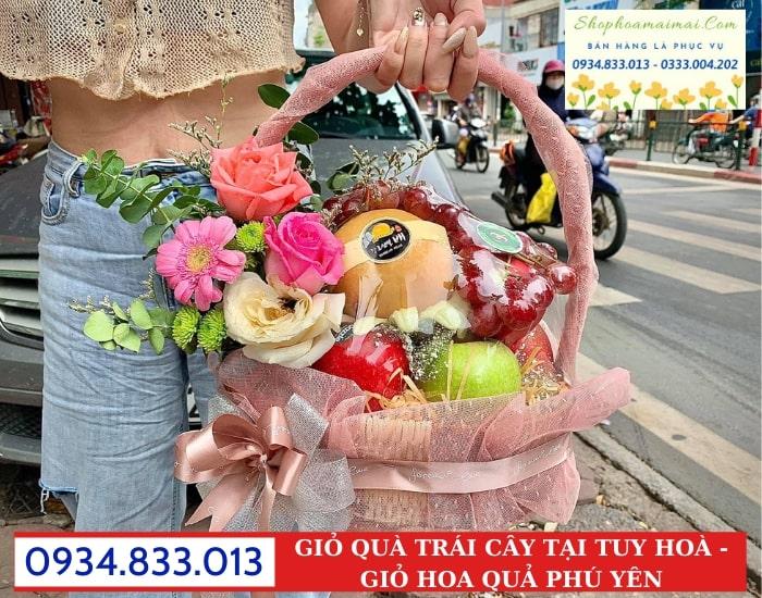 Mua Giỏ Quà Trái Cây Tại Phú Yên