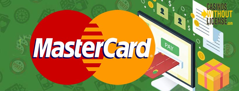 Mastercard at casinos without license