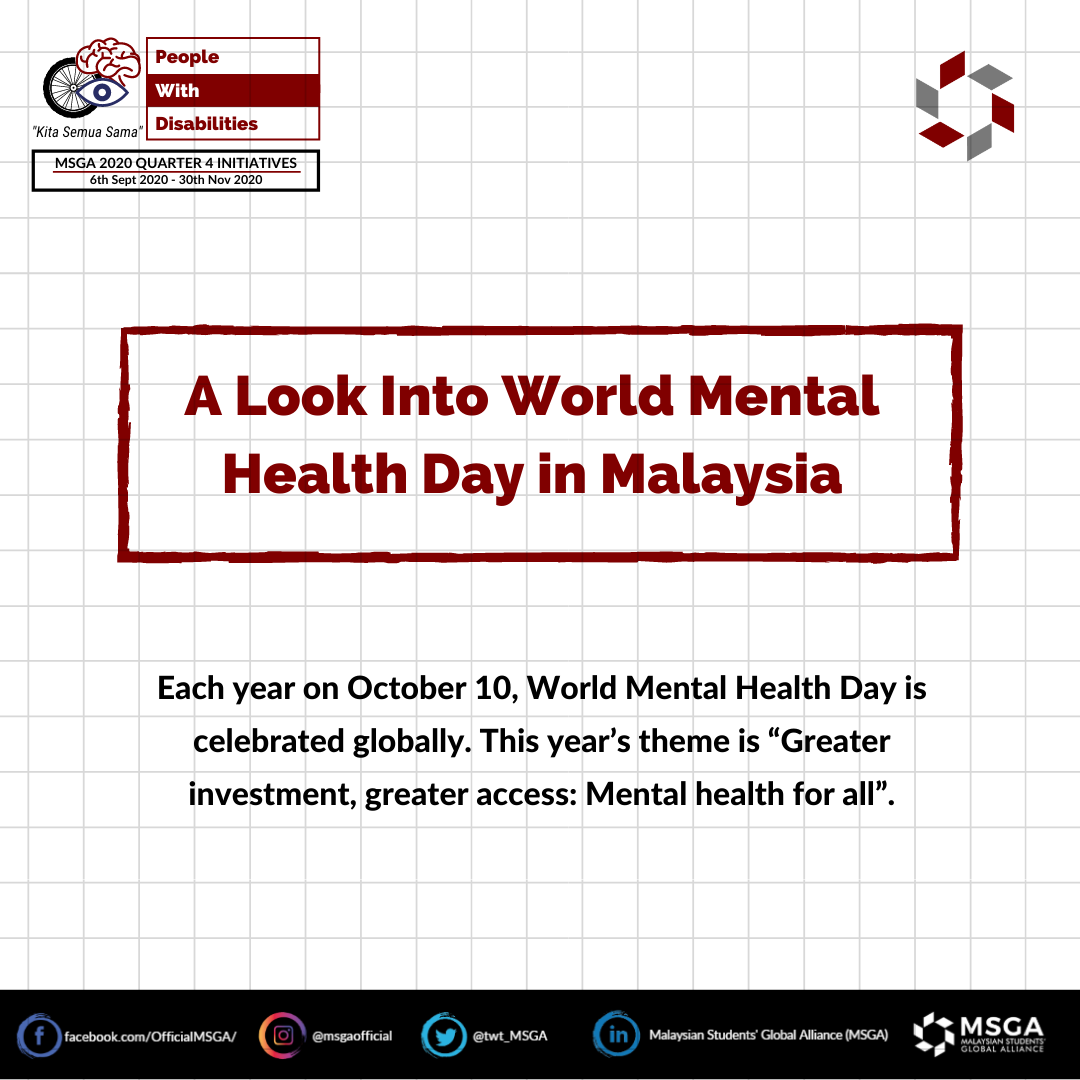 A Look Into Mental Health Day