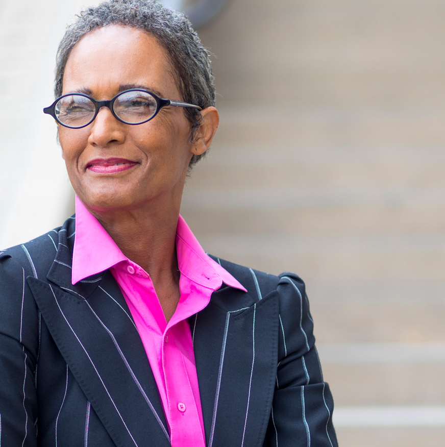 Photograph of a female, African-American,  Executive