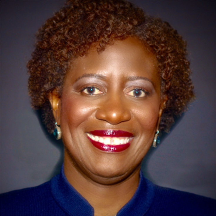 Photograph of Viola Maxwell-Thompson advisor to AboveBoard.