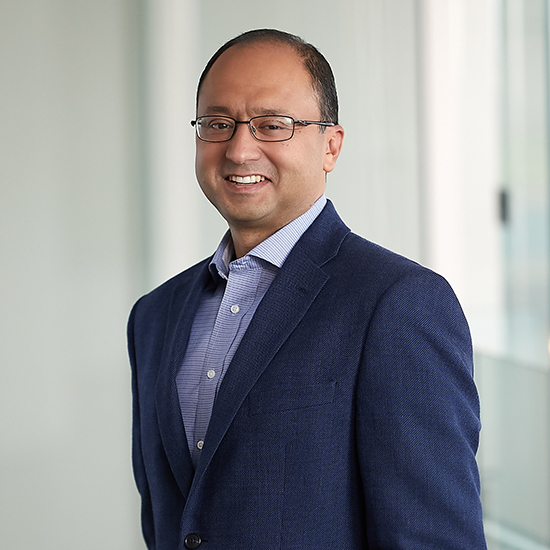A photo of Asheesh Gupta managing director at the Audax Group