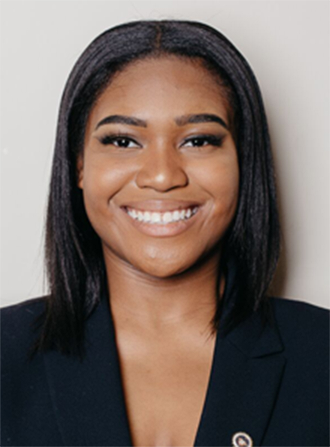 A photo of Asia Roscoe a intern at AboveBoard.