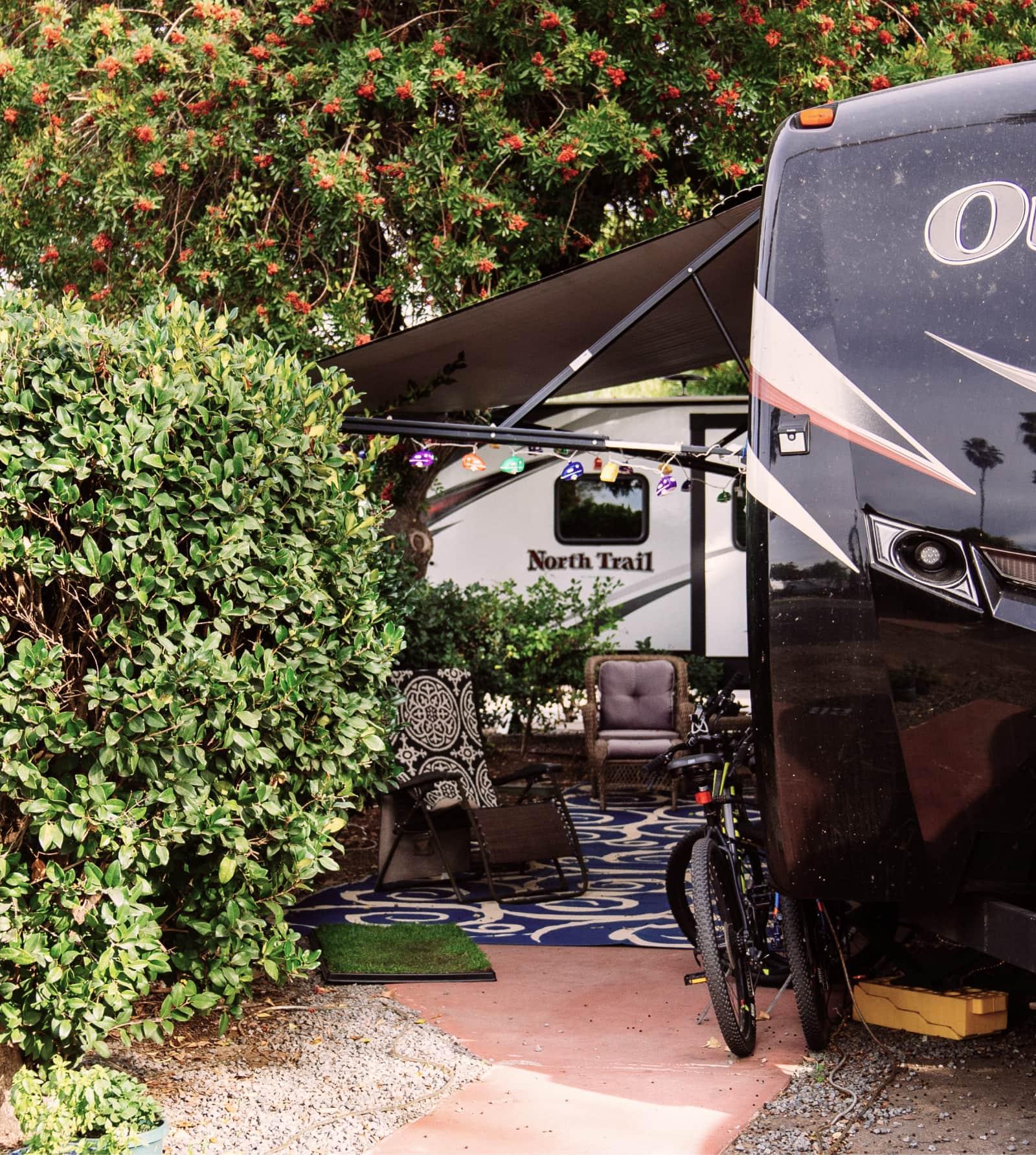 Site Setup, San Diego RV Resort
