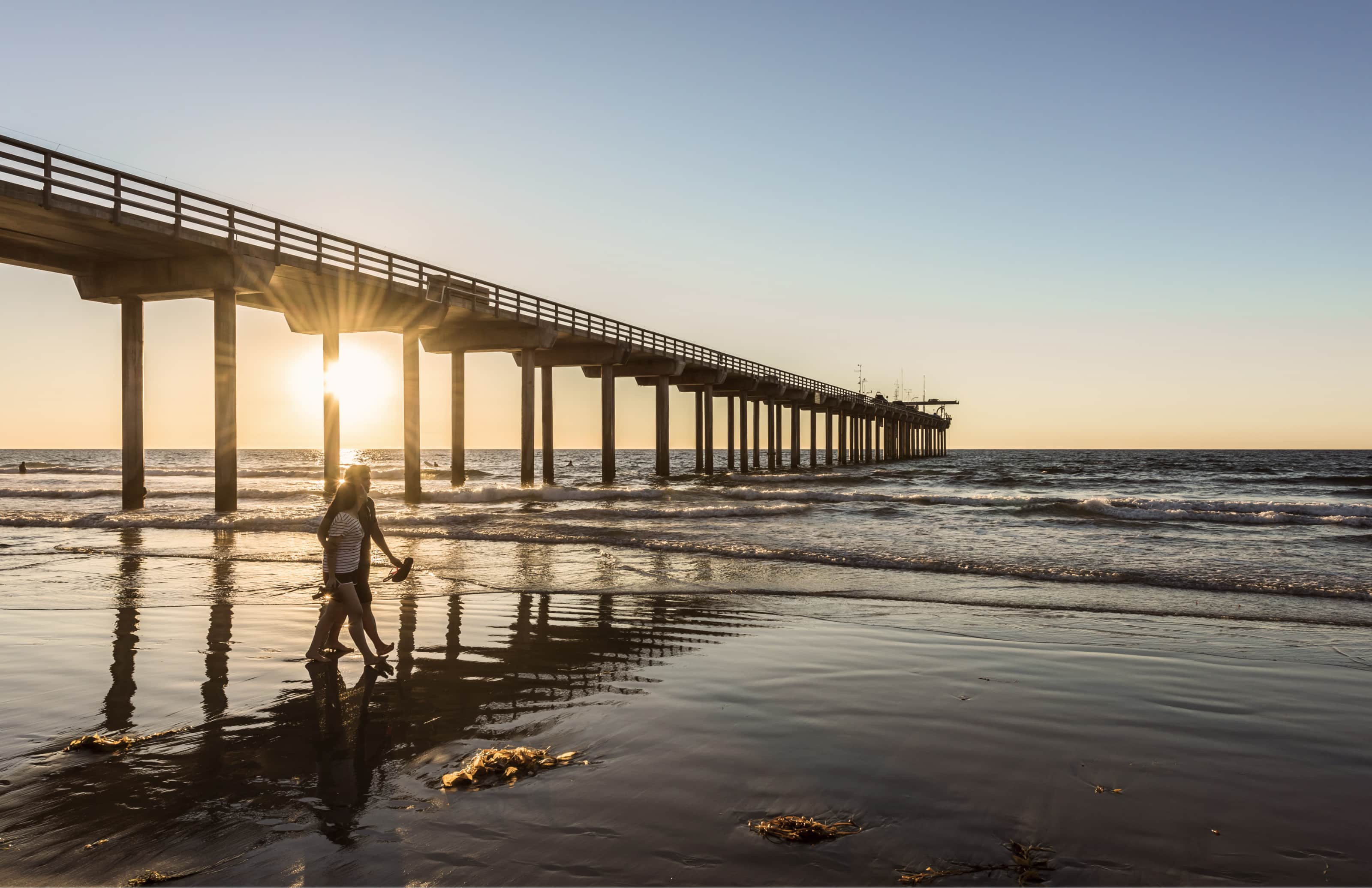 Beach Sunset, San Diego RV Resort