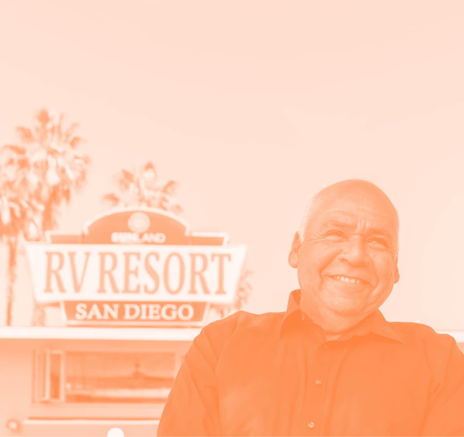 staff at san diego rv resort
