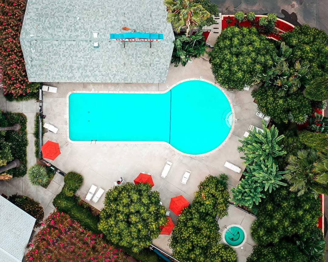 Pool at San Diego RV Resort