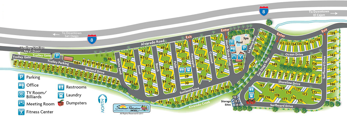 View our resort map