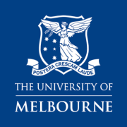 Logo for MAKE partner and client The University of Melbourne.