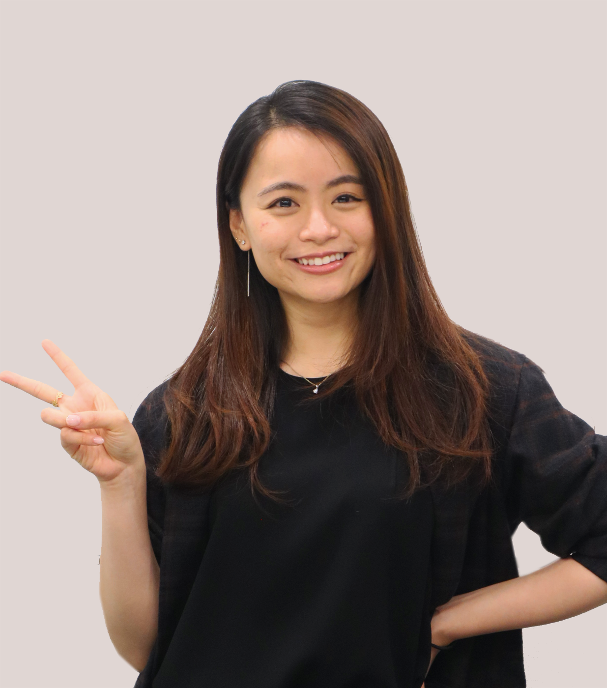Funny portrait photo of Agnes Kan, Service Designer at MAKE Studios Hong Kong.