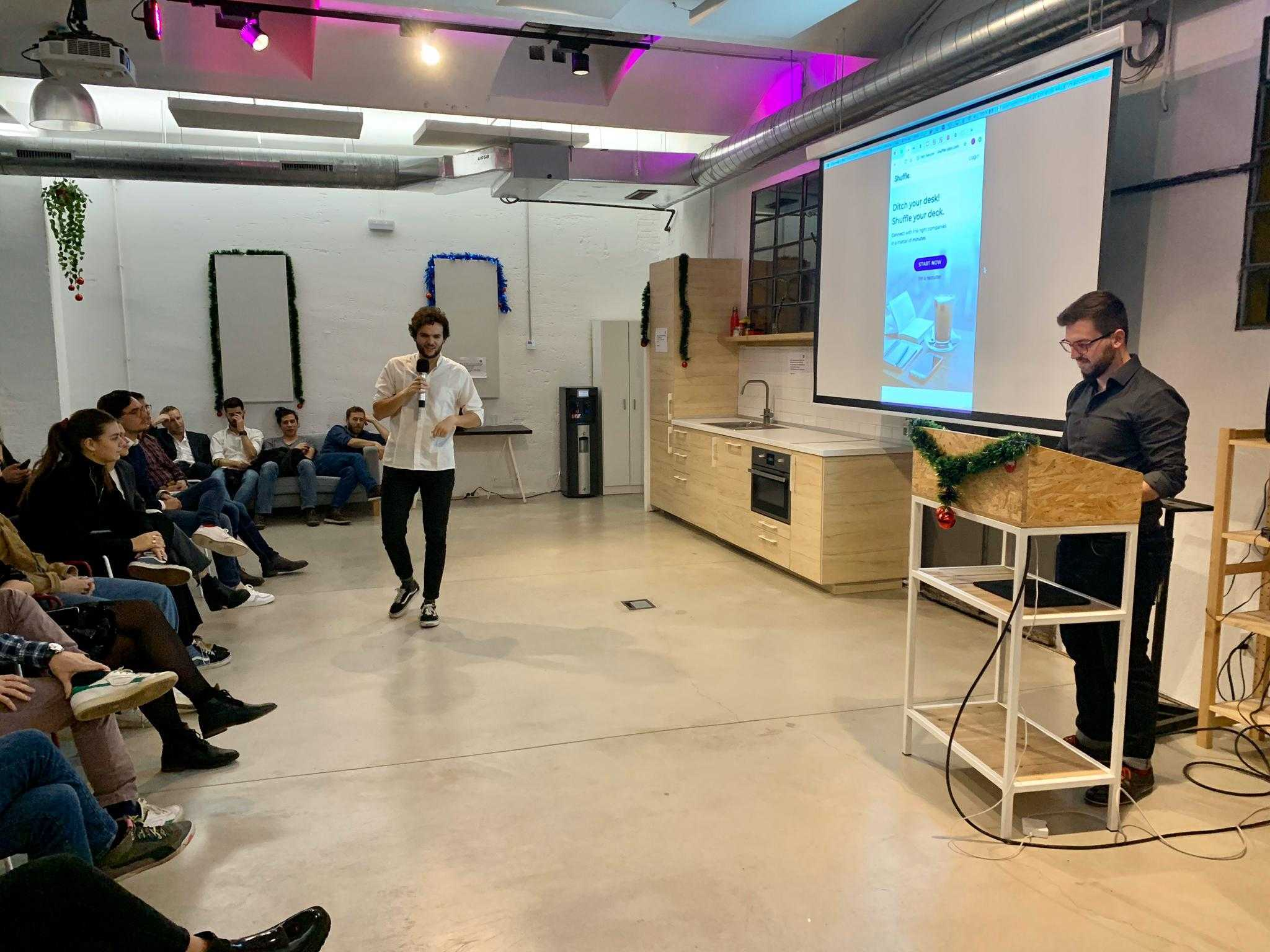 Web design  and development pitch in Barcelona