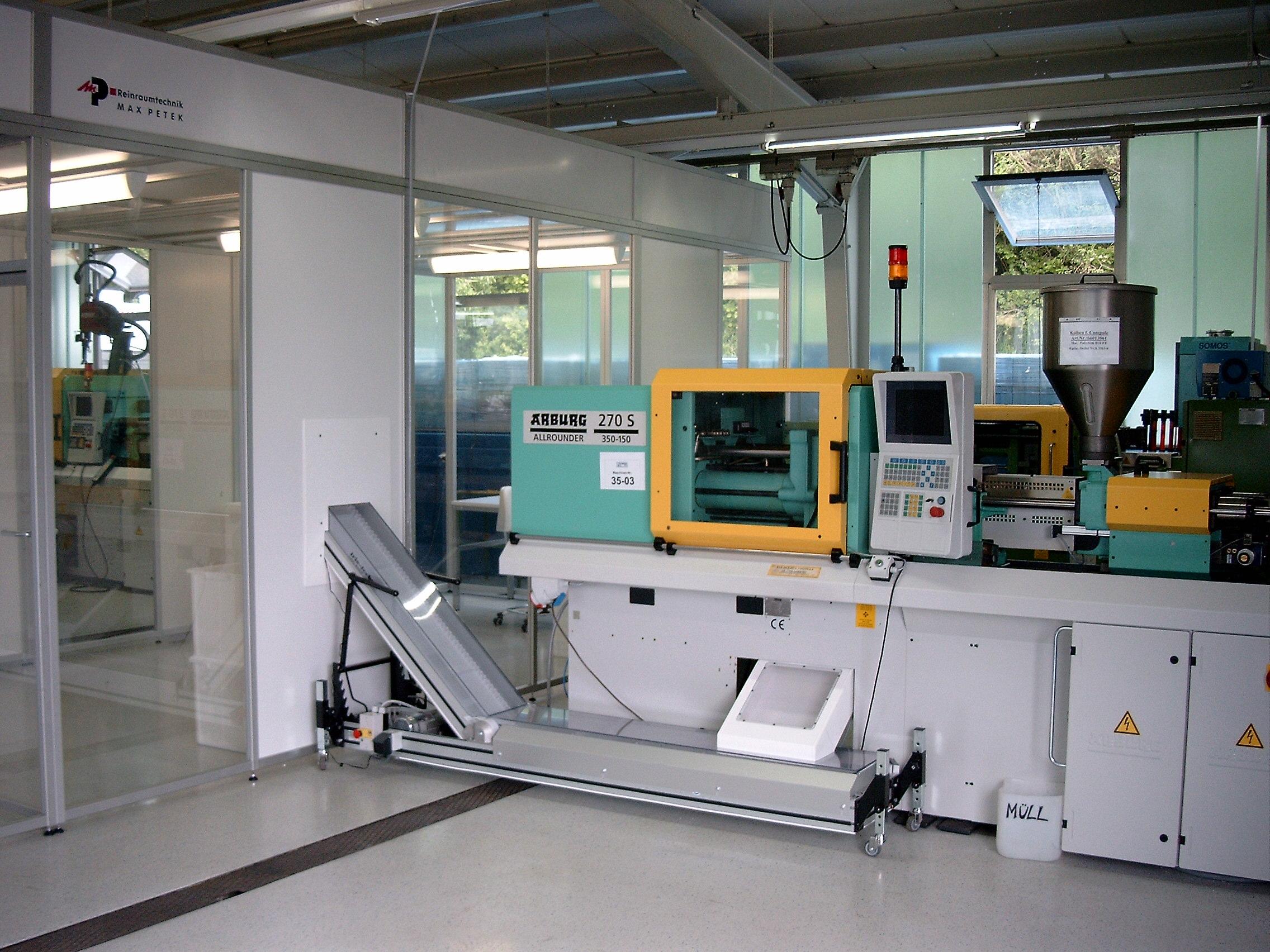 Eine Maschine für Kunststofftechnik Erzeugnise
