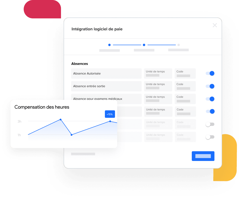 image de la fonctionnalité de traitement de la paie de Skello
