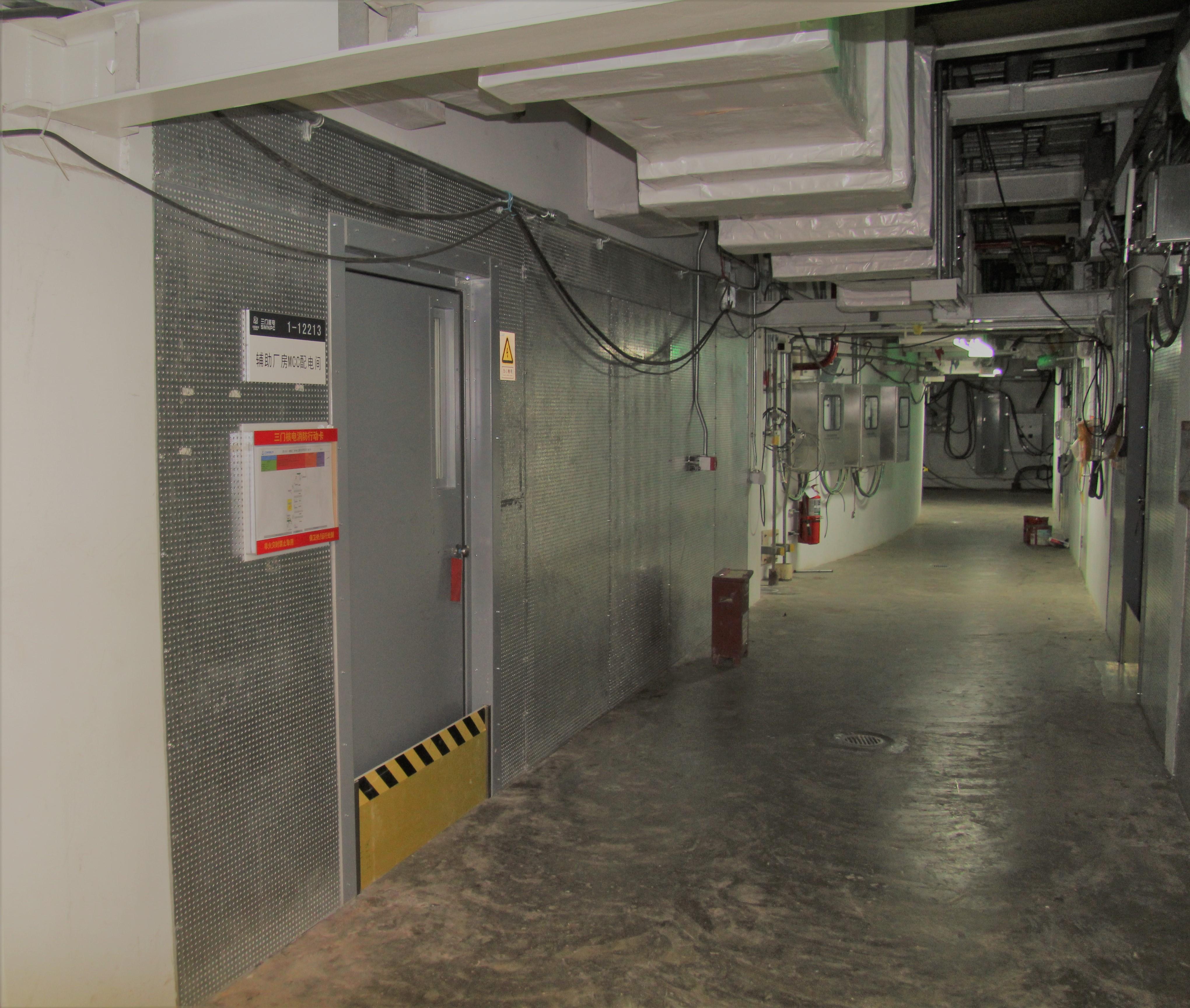 Référence Baumert AW20 Vogtle Etats-Unis, conception et fabrication systèmes décloisonnements coupe-feu, protection câbles électriques