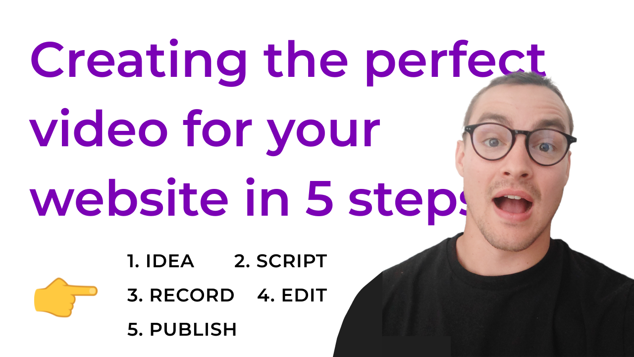 How To Create The Perfect Video For Your Website In 5 Steps + Examples