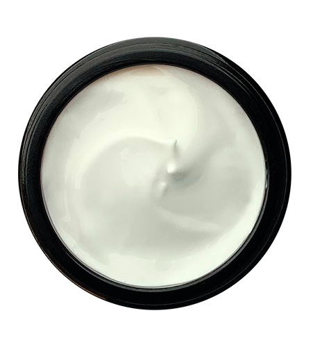body moisturiser as seen from above