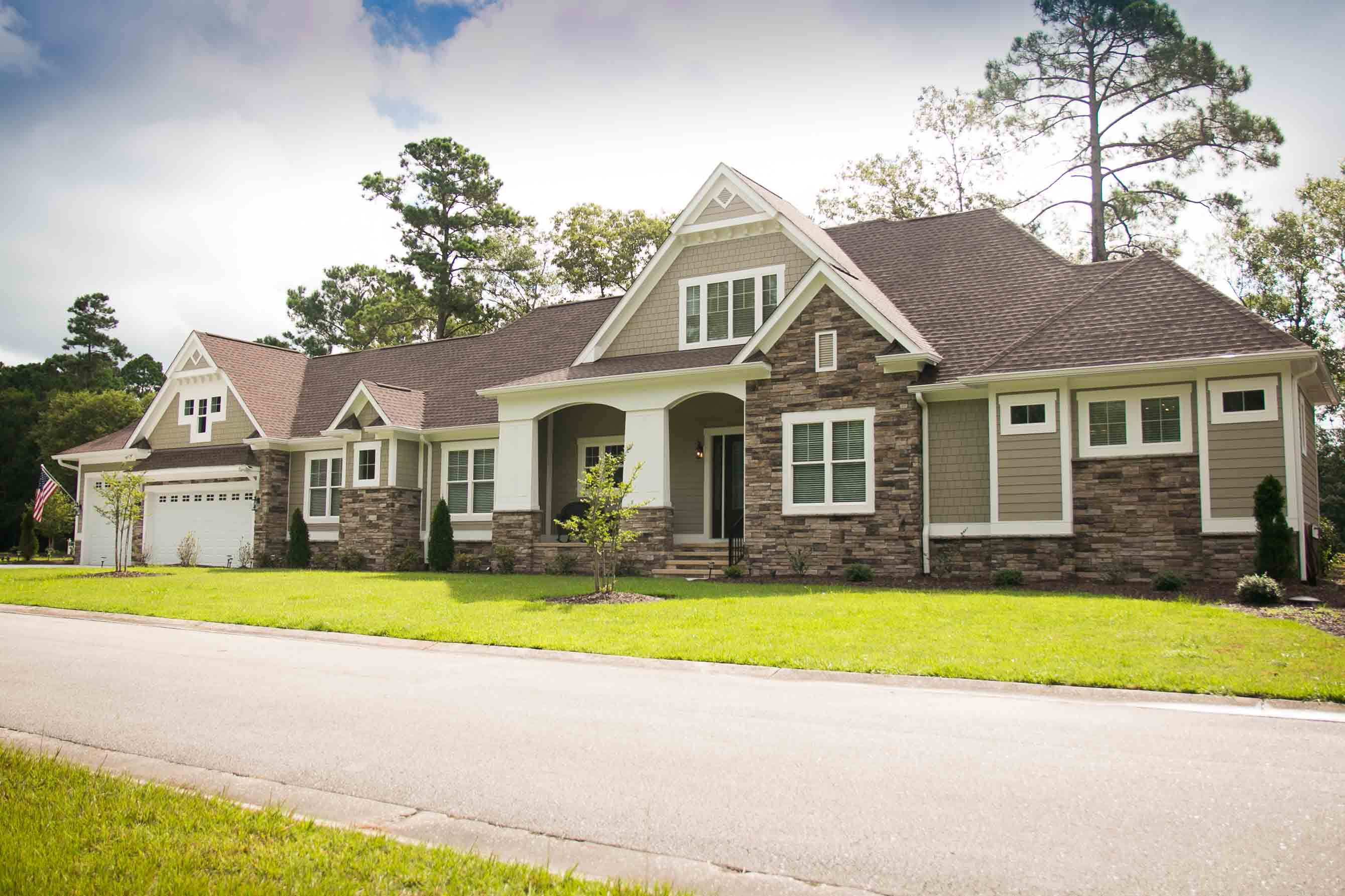 New Custom Home by QRI Construction