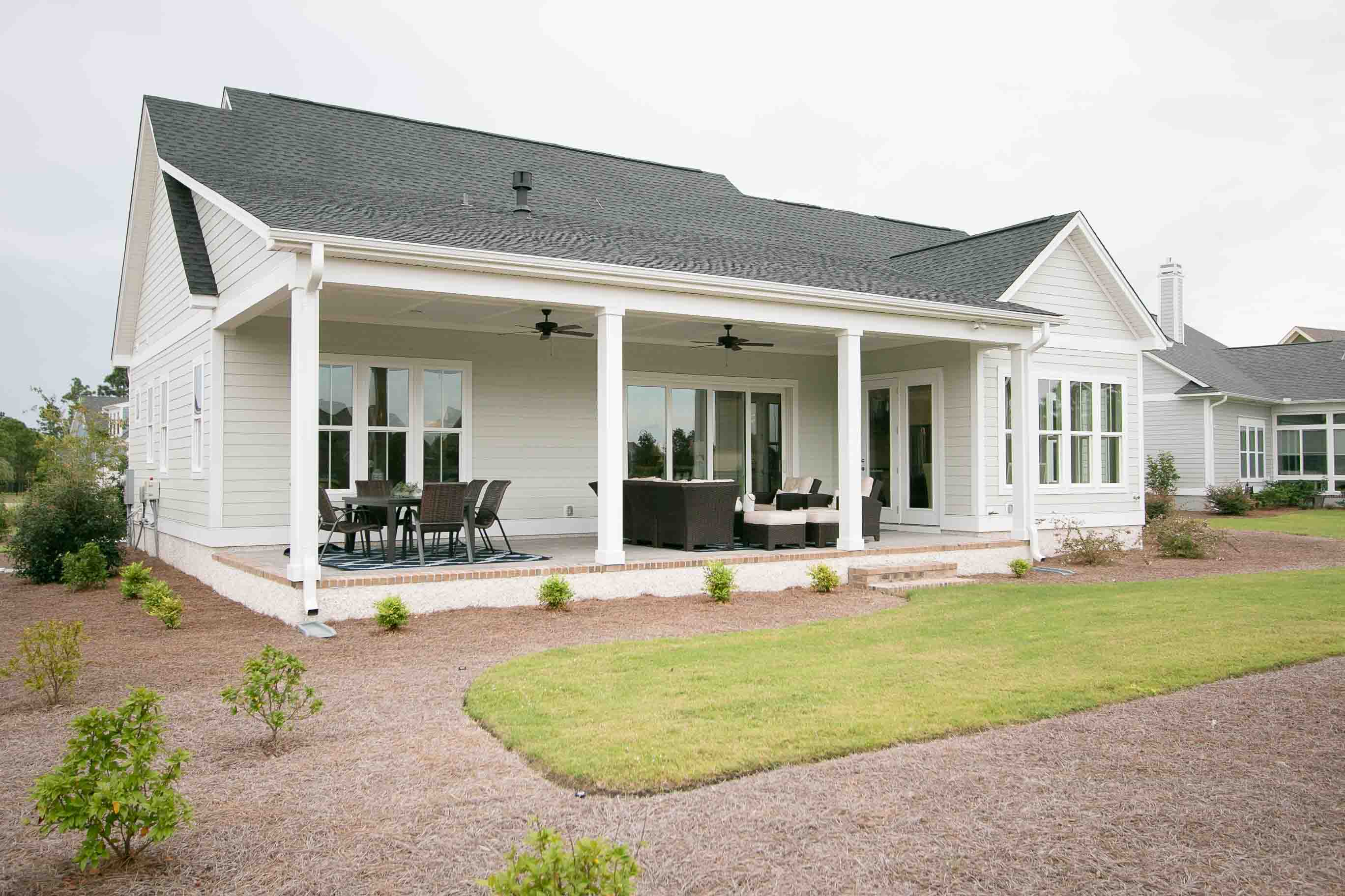 Southport NC custom home by Riverbrook