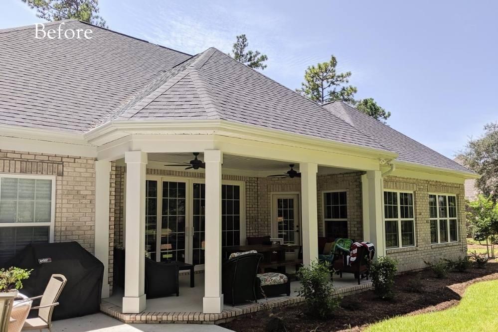 outdoor renovation by Windowz inc.
