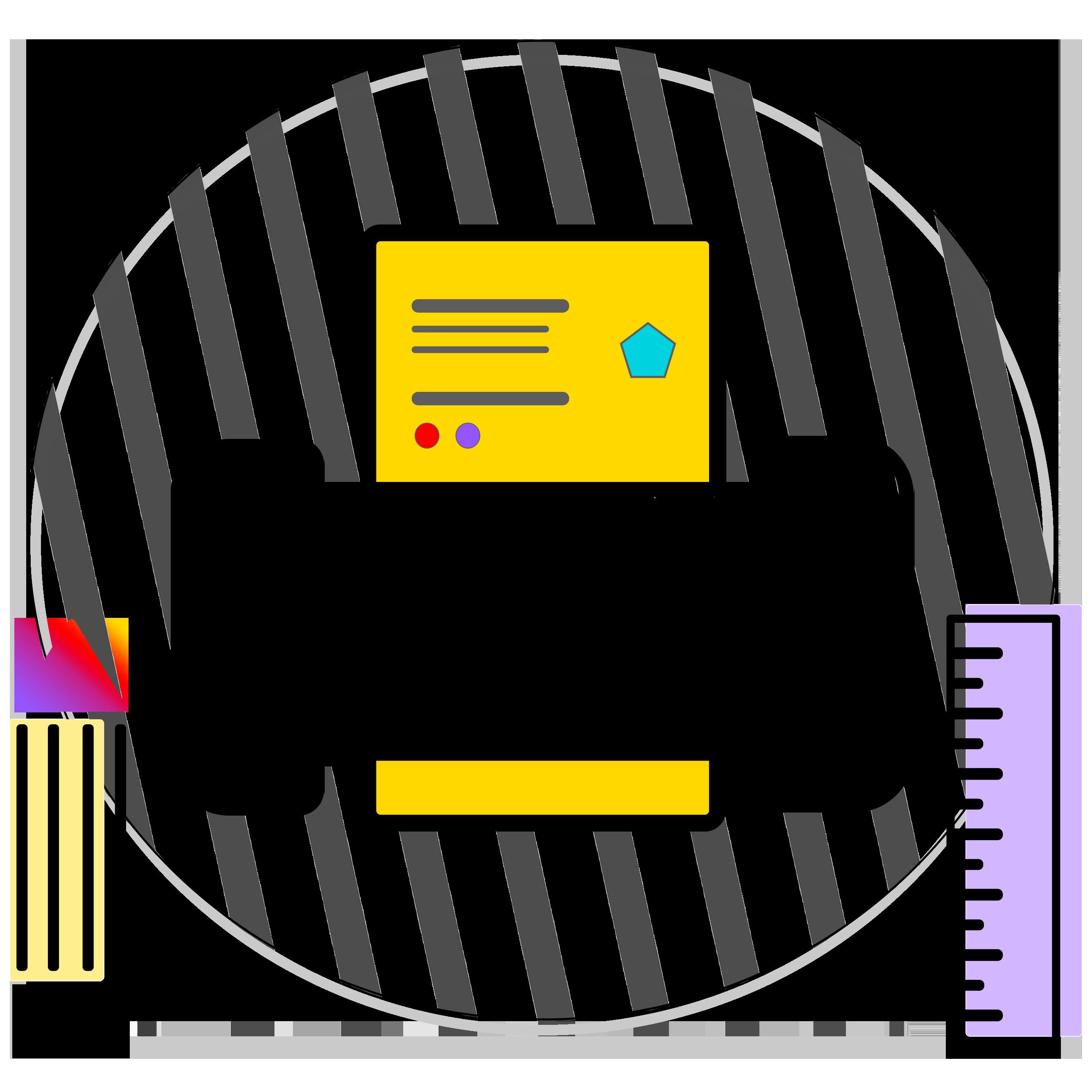Print Design Service Icon
