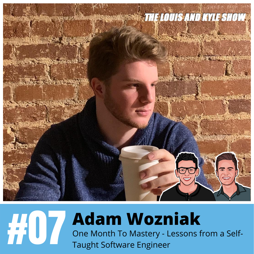 Adam Wozniak: One Month To Mastery - Lessons from a Self-Taught Software Engineer