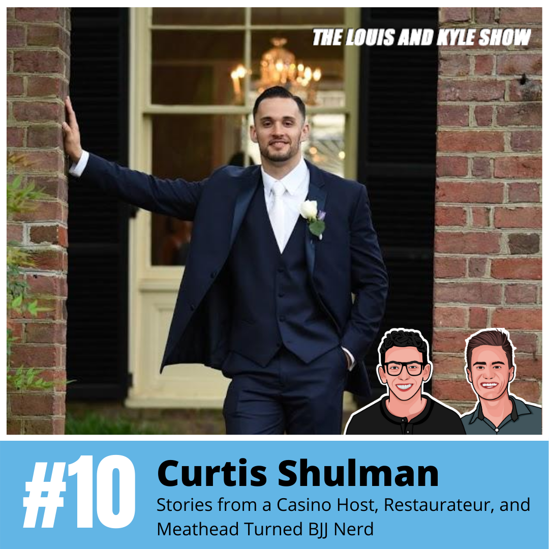 Curtis Shulman: Seven Businesses, One Roof - Stories from a Casino Host, Restaurateur, and Meathead Turned BJJ Nerd